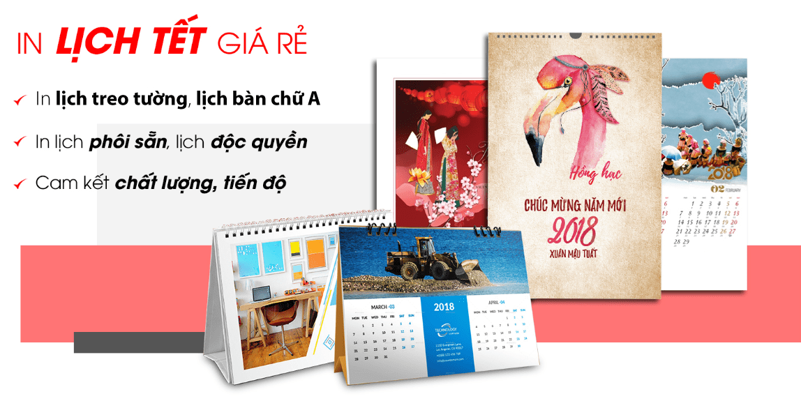 In lịch tết giá rẻ 2020