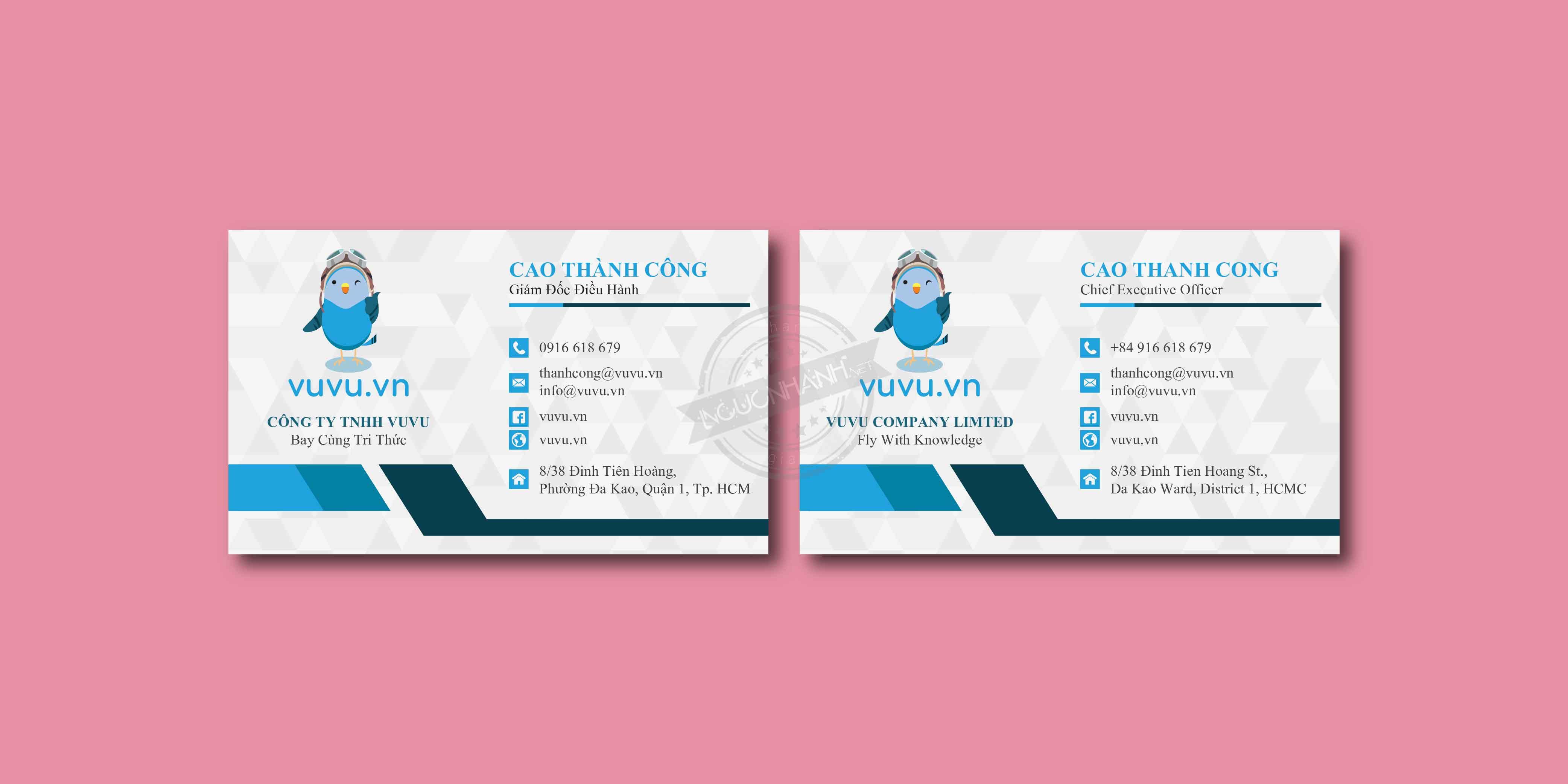 Các hình thức in name card phổ biến hiện nay